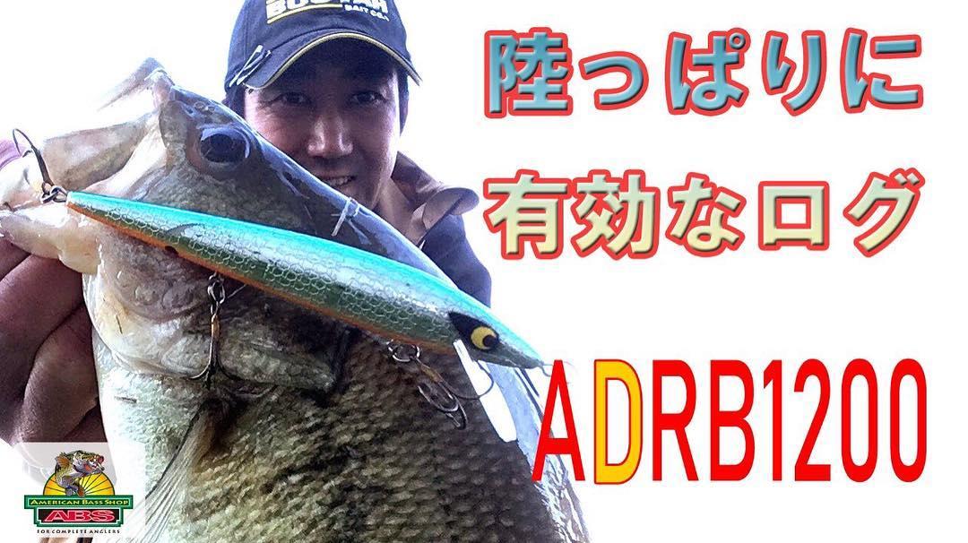 おかっぱりに有効なラトリンログADRB1200 ABSバス釣り動画 SMITHWICK Floating Deep Rattlin Rogue onerror=