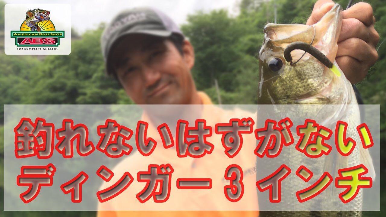釣れないはずがないYUMディンガー3インチ 重心バランスも重要 ABSバス釣り動画 YUM Dinger onerror=