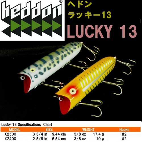 Heddon LUCKY 13 ヘドン ラッキー13