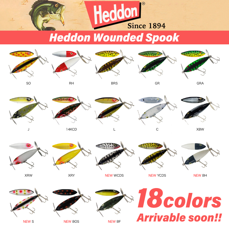 Heddon WOUNDED SPOOK /  ウンデッドスプーク